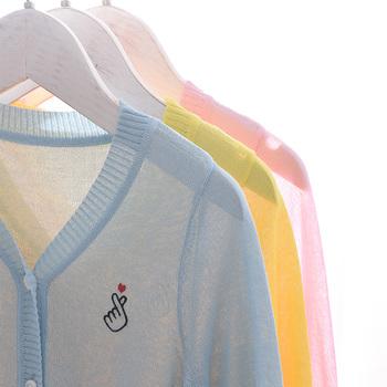 女童薄款儿童空调衫新款冰丝防晒衣
