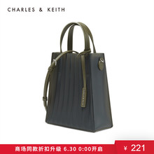 Charles & keith2020 spring new product ck2-30781151-1 transparent material single shoulder bag for women