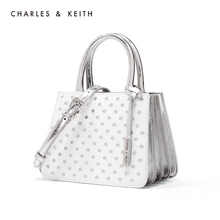 Charles & keith2020 spring new product ck2-30270424 hollow bag face portable single shoulder organ bag female