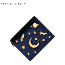 Ms. CHARLES & KEITH Cardbag CK6-50680560 Star Sky Bag Multifunctional Small and Small Wallet Girl