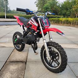 新款迷你摩托车汽油49CC小型小越野车儿童中型125CC大人电动包邮