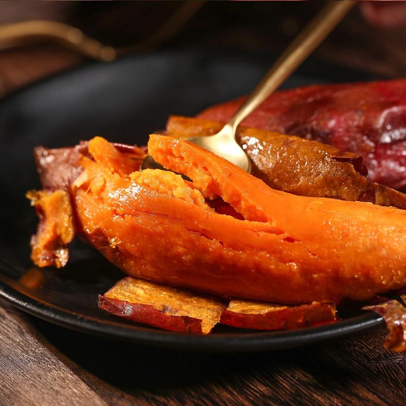 新鲜现挖六鳌蜜薯5斤左右无筋粉糯小红薯农家蔬菜地瓜红心小香薯