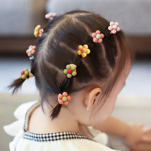 儿童头绳女韩国可爱头饰宝宝扎头发皮筋花朵发绳女童橡皮筋小发圈