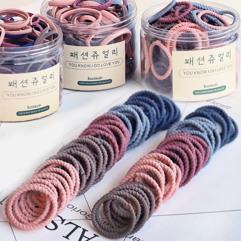 韩国儿童发饰橡皮筋扎头发马尾皮筋热销152件不包邮