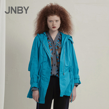 Shopping mall same JNBY / Jiangnan cloth windbreaker 2020 spring new medium short hooded 5kb220500