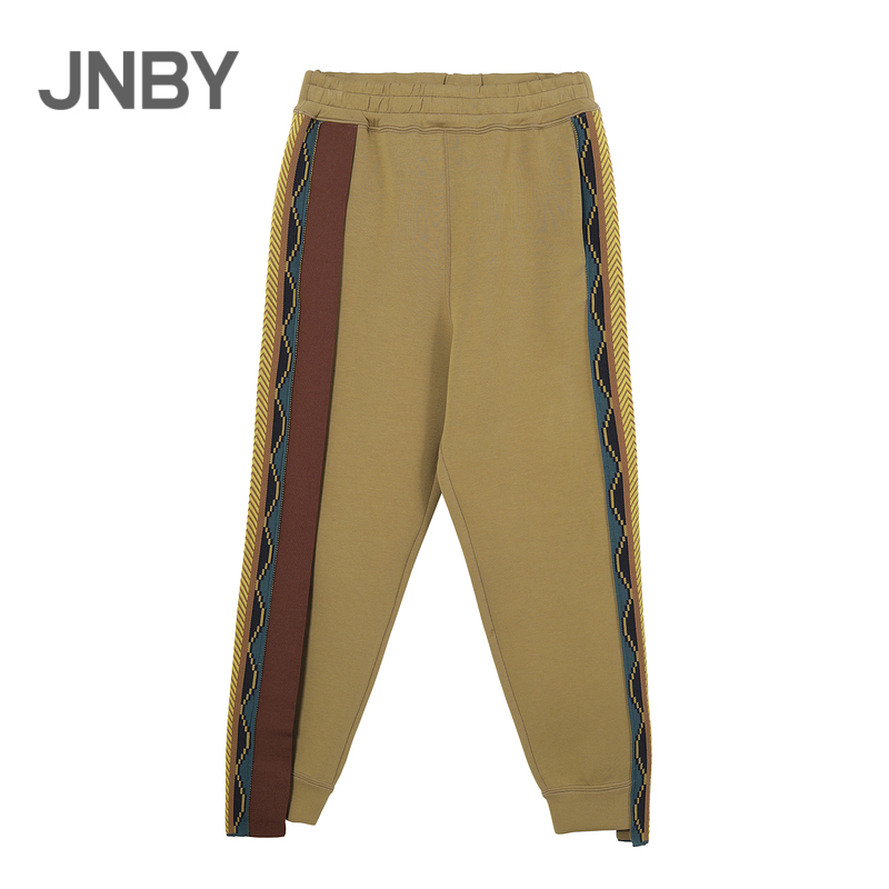 Shopping malls with the same paragraph JNBY/ Jiangnan cloth 20 winter new cropped pants nostalgic retro casual 5KA320530
