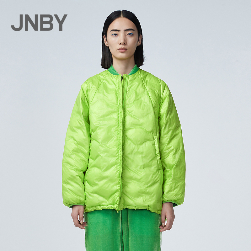 Mall with the same paragraph JNBY / Jiangnan cloth 21 spring new down jacket loose street head wind 5LB221680