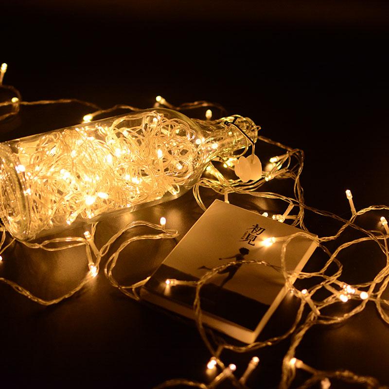 房间网红装饰灯小星星灯元旦闪灯串灯满天星彩灯节日灯饰用品梦幻