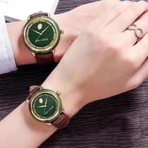 新疆和田玉手表商务表男女情侣款潮表全自动石英表防水表国产腕表