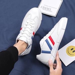 夏季男士大码透气小白鞋45韩版百搭板鞋46加大号阿甘运动休闲鞋47