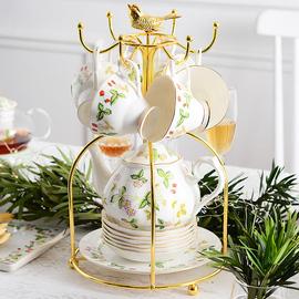 欧式骨瓷茶具套装英式下午茶咖啡杯美式花茶杯子奢华家用结婚送礼图片