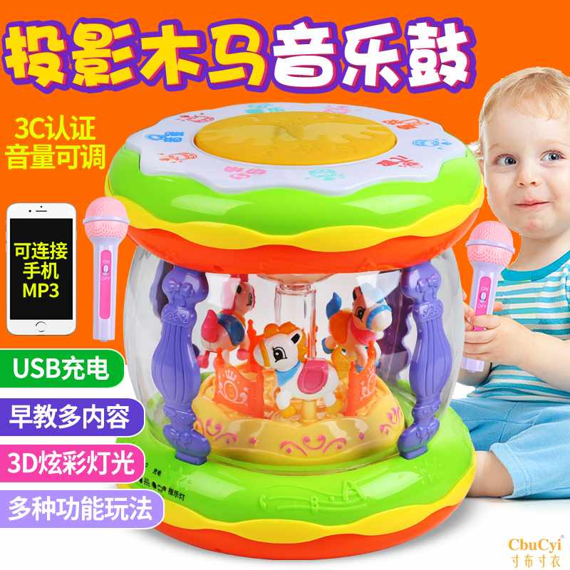 Детские электронные барабаны Артикул 601000609479