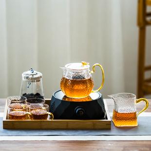 电陶炉煮茶器茶具套装家用静音泡茶电磁炉小型花茶壶蒸茶炉烧水壶品牌