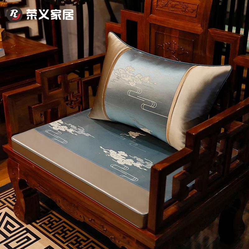 新中式红木套实木带圈罗汉床靠垫评价如何?