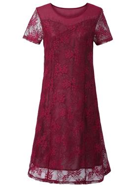 婚礼妈妈礼服裙子高贵中老年女夏装连衣裙丈母娘喜婆婆结婚宴会装