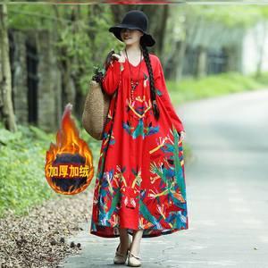 泰国丽江大理云南旅行出游服饰穿搭度假连衣裙长裙女装拍照秋冬季