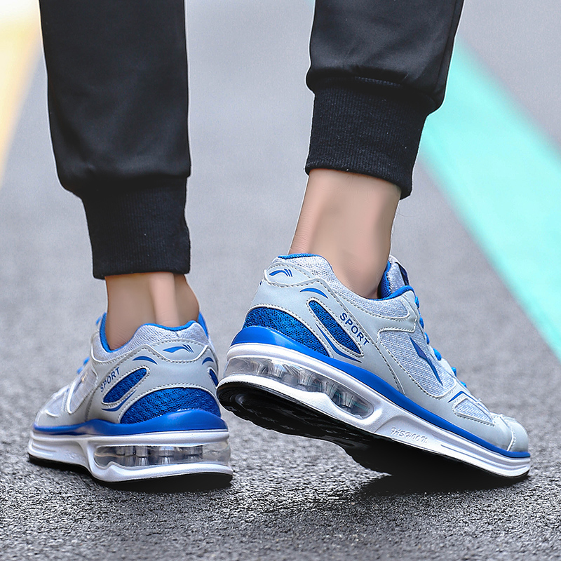 New Li Ning mens shoes sports shoes mesh running shoes 2020 summer new breathable shock absorption ultra light mens casual running shoes