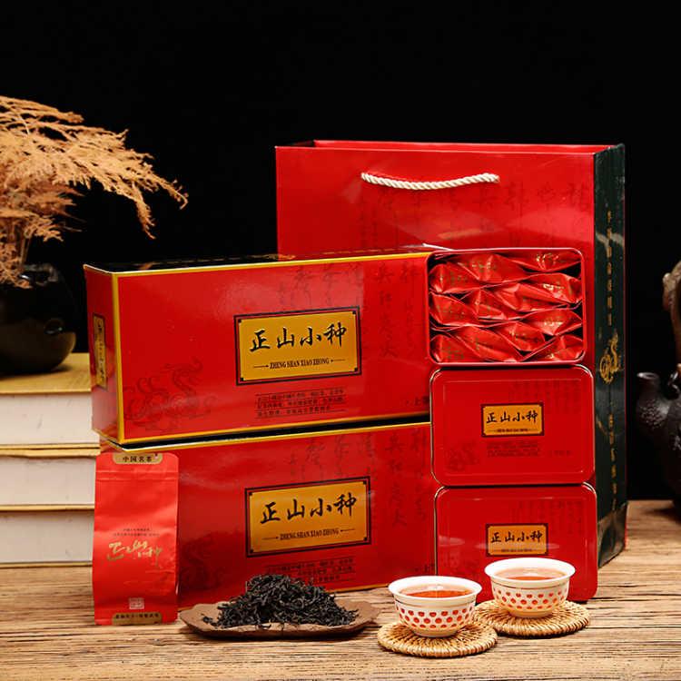 正宗武夷山正山小种新茶暖胃养生桐木关红茶茶叶250g烟条3盒装
