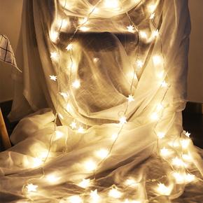 圣诞节装饰品网红卧室温馨ins少女房间布置圣诞树礼物桌面小摆设