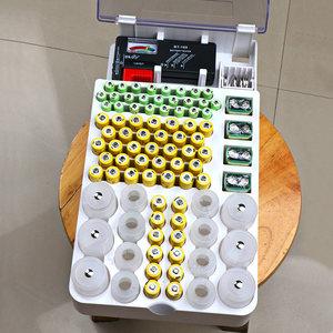 装1号2号5号7号9v纽扣电池盒