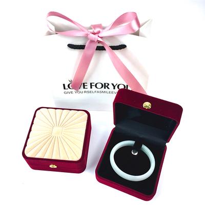 高档珠宝玉器首饰包装盒戒指项链盒子礼物盒手链手镯包装礼盒精致