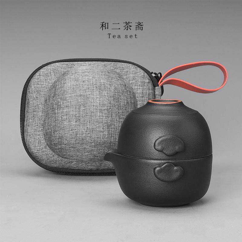 快客杯一壶一杯简易单人1人办公室泡茶随身小型旅行便携茶具套装
