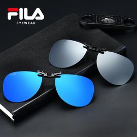 FILA 墨镜夹片 男女通用偏光镜夹片式太阳镜近视开车眼镜夹片夜视图片