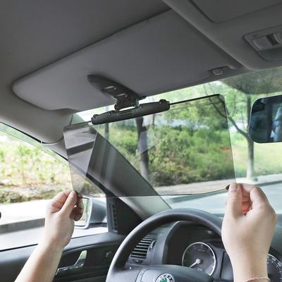 日本进口汽车前档车内车子强光防炫目遮阳板防远光遮光挡板护目镜