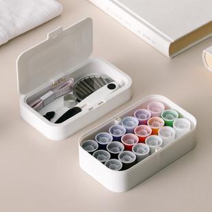 日本针线盒家用高档多功能便携式学生实用手缝手工缝纫工具包套装
