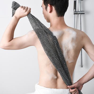 日本搓澡巾男士专用搓背长条擦后背巾家用男女士不疼韩国洗澡神器