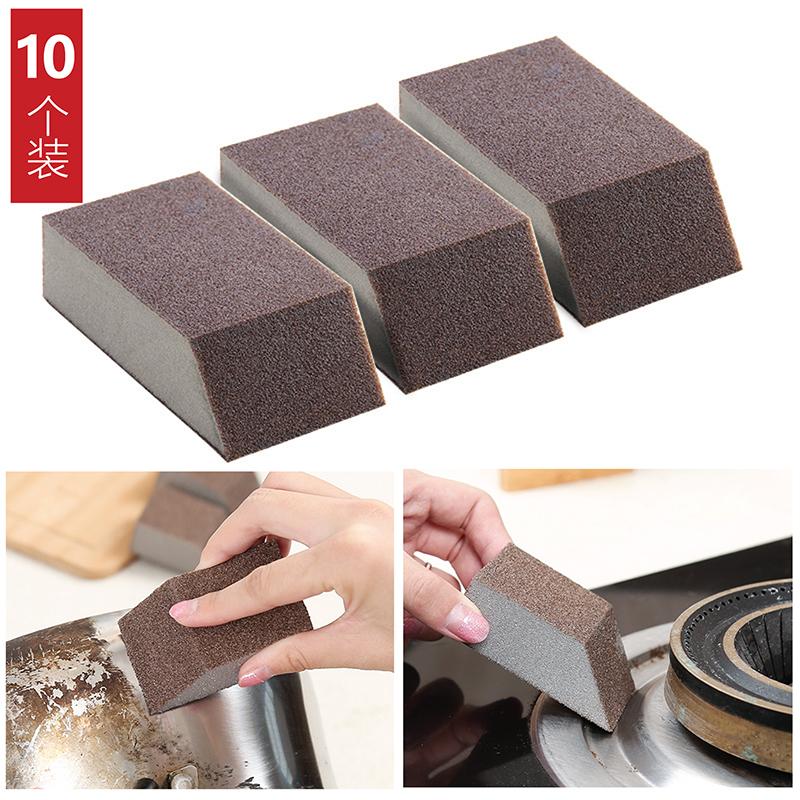 金刚砂去铁锈神奇魔力擦海绵擦强力去污厨房清洁刷碗洗锅神器正品