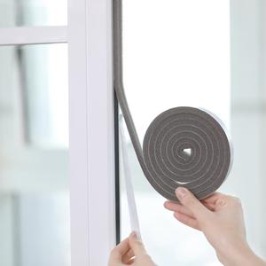 日本门缝隙门窗户密封条自粘木门隔音防风条推拉防盗玻璃门防撞条
