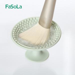 日本化妆刷清洗器工具洗刷垫刷毛清洁神器便携洗刷盘清洁美妆用具