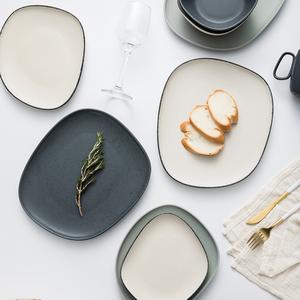 即物家用创意网红ins陶瓷盘子