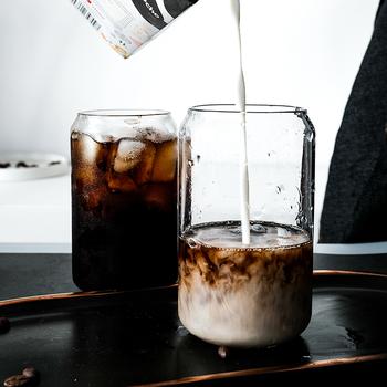 网红ins风可乐杯创意玻璃水杯子