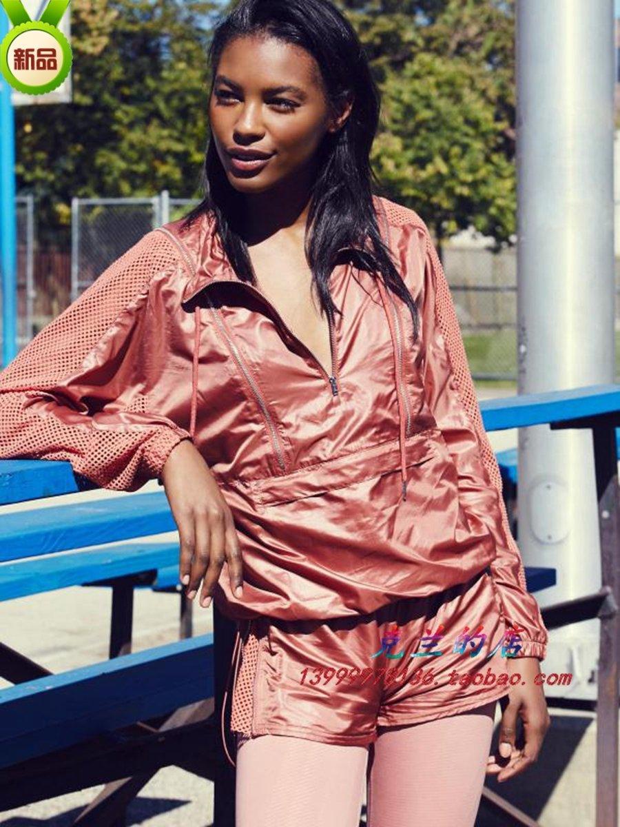 fp2020新款运动健身晨跑瑜伽服宽松套装薄女速干衣桔红色短裤显瘦