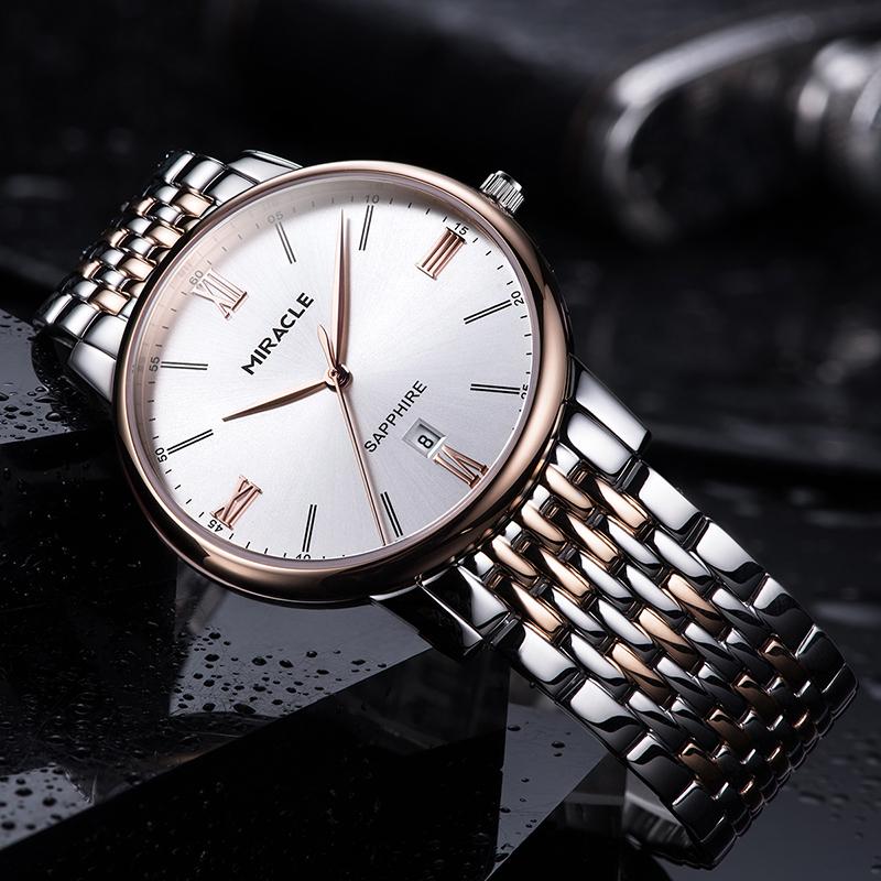 格尼正品手表男士石英表时尚潮流dw男表超薄精钢简约防水非机械表