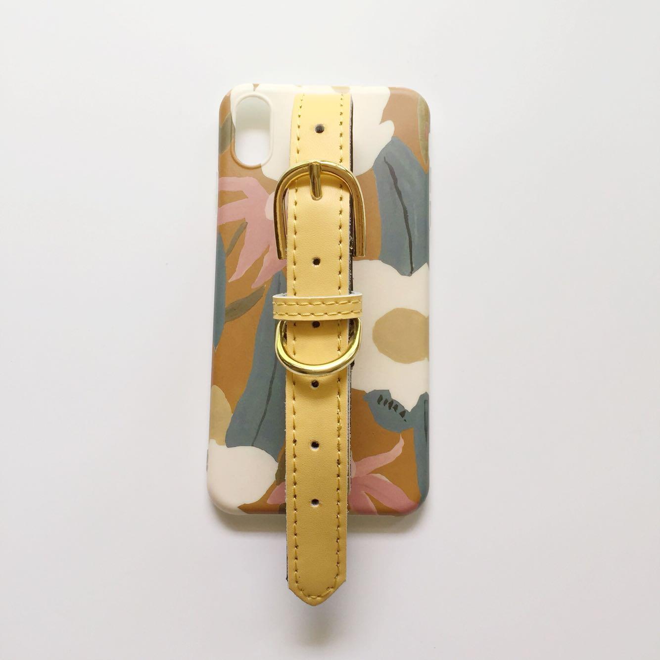 原创油画荷包蛋花朵iphonexsmax手腕带苹果手机壳8plus/7/xr软壳五折促销