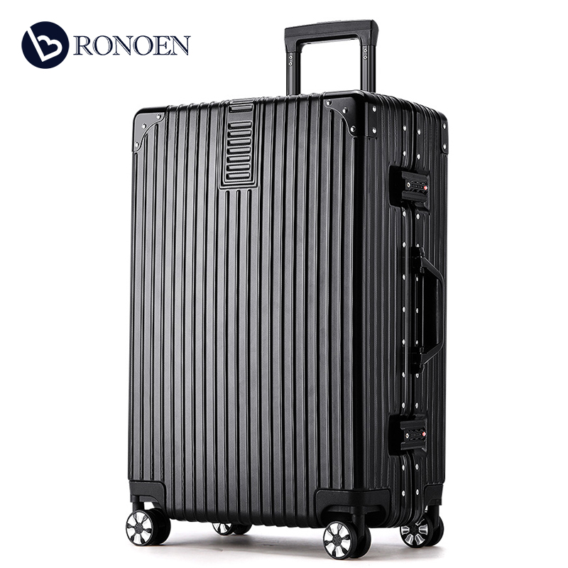 Aluminum frame trolley case luggage case universal wheel 20 boys and girls 24 code box 28 inch ultra portable