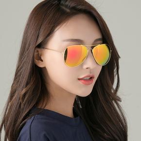 太阳镜男女同款遮阳墨镜潮流个性开车蛤蟆镜圆脸显瘦防紫外线眼镜