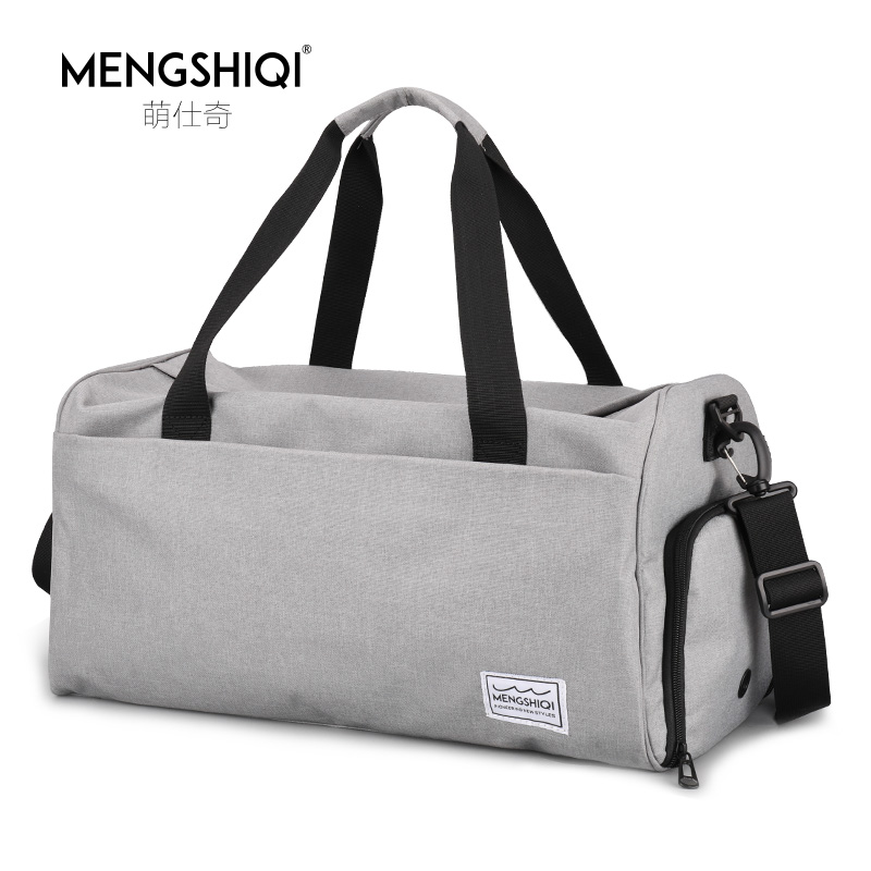 Fitness Bag Men's Wet and Dry Separation Women's Training Bag One Shoulder Hand-held Travel Bag Yoga Swimming Bag Baggage Tide