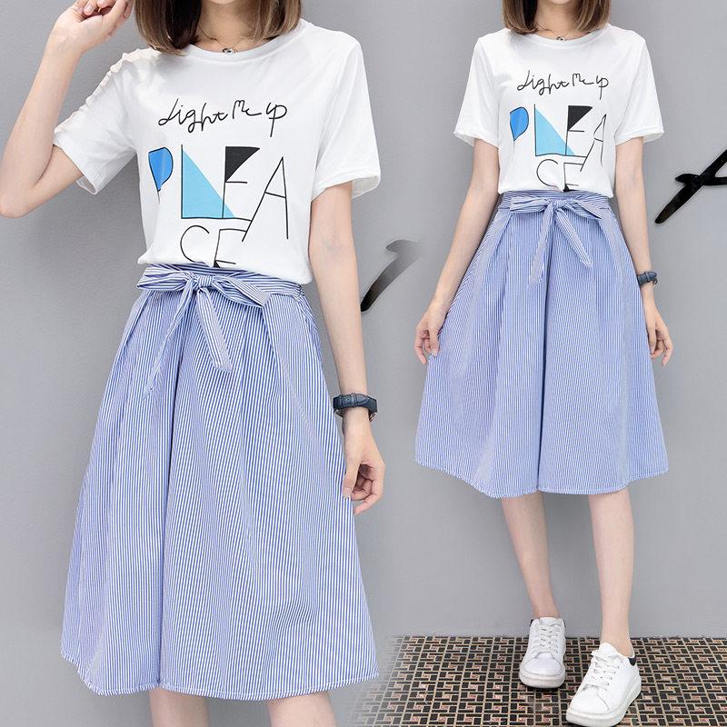 10-12新券衣裙女夏装矮个子搭配xs套装裙女生