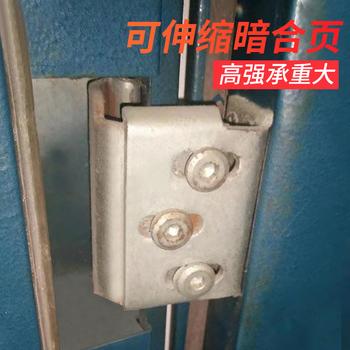 防盗门重型隐形折叠加厚防火合页
