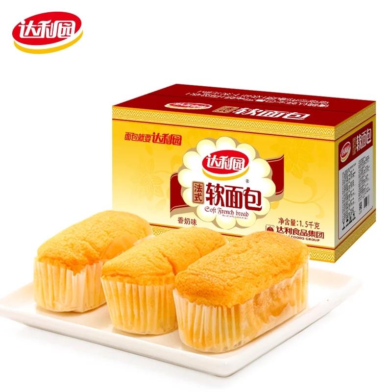 达利园法式软面包香奶味整箱小面包券后16.90元