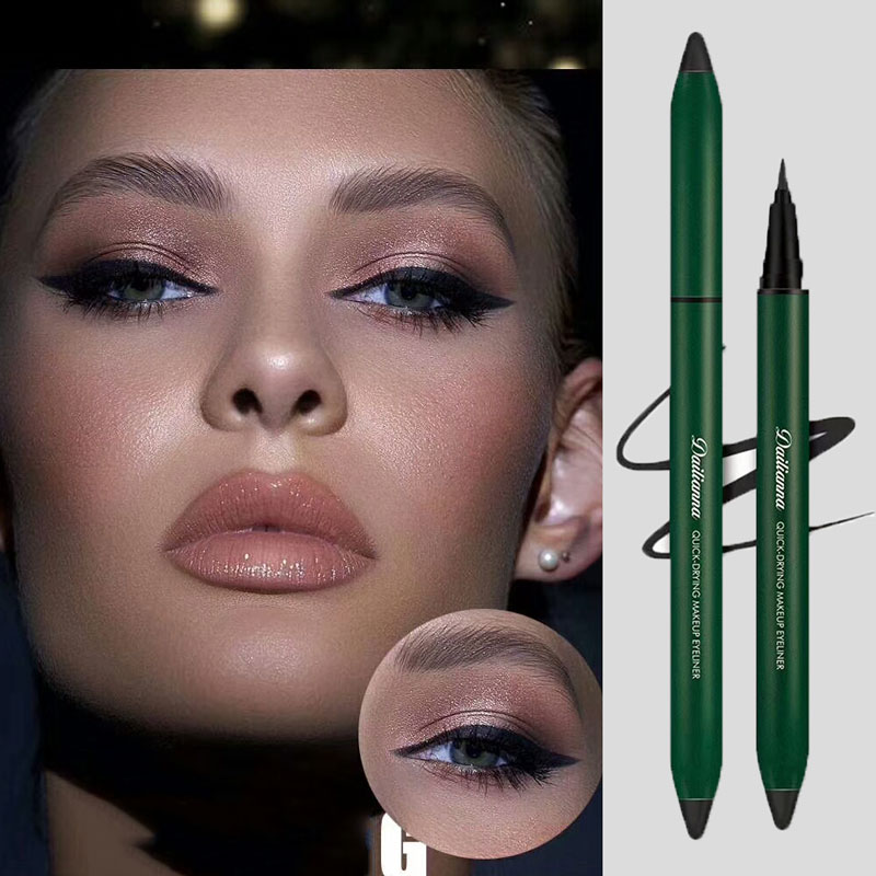 Dalenas Eyeliner doesnt stain, its waterproof and durable.
