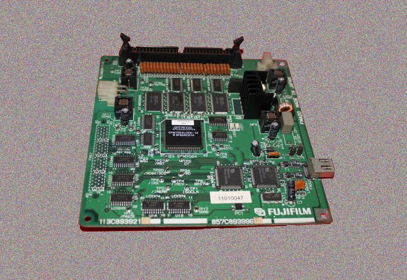富士激光数码冲印机355/370二手857C893996F配件FMA20板1394板