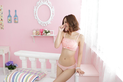 fb98235b04 Japan TIMI sweet cake wipes bosom gather underwear suits clients on ...
