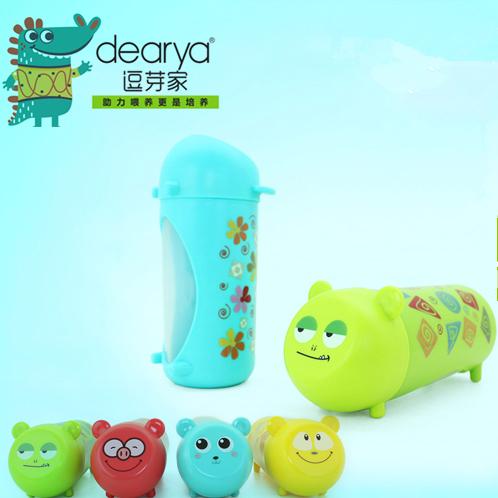 满40.80元可用1元优惠券dearya逗芽家 趣味动物学饮杯 宝宝学习水杯 鸭嘴杯 儿童水杯