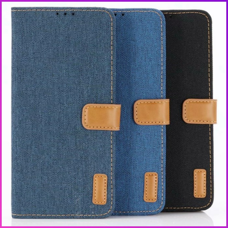 Suitable for Huawei P30 Pro mobile phone case flip button Wallet Card P30 Lite jeans protective case