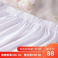 如梦霓裳女汉服中裙传统日常襦裙内搭半身裙防走光打底蕾丝边衬裙